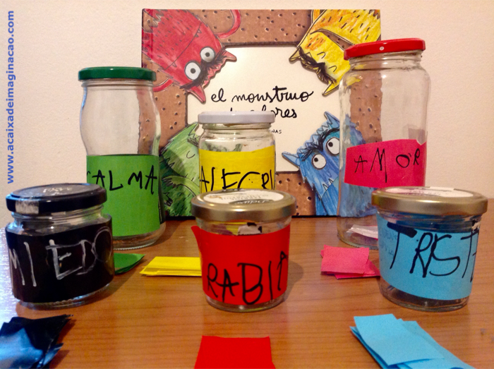 reseña monstro colores caja de imaginación