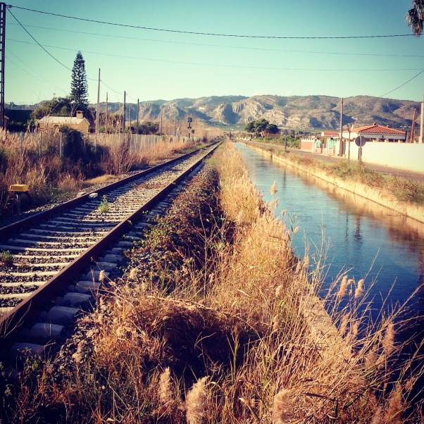 Castellon pedalar 3 tren