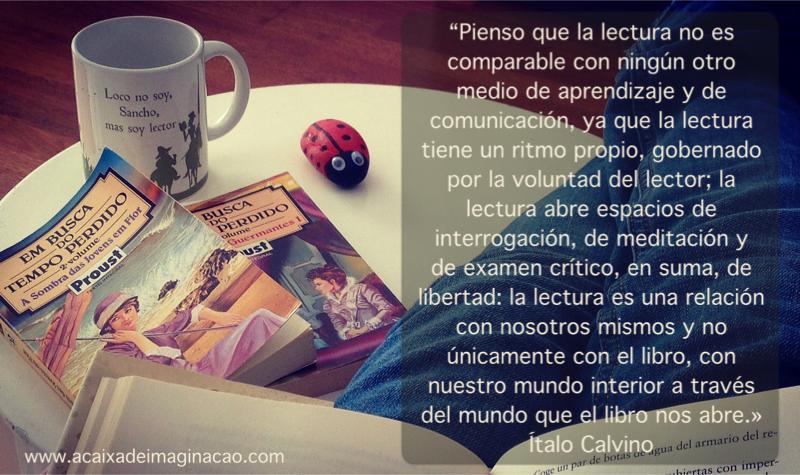 lectura es una relación con nosotros mismos