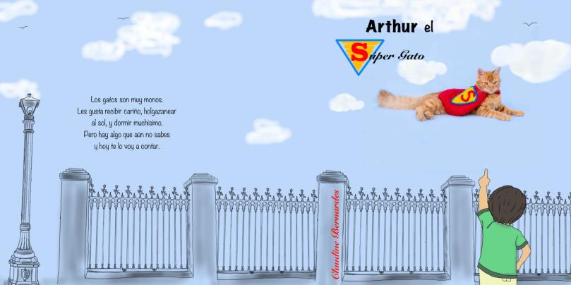 Arthur el super gato Claudine Bernardes
