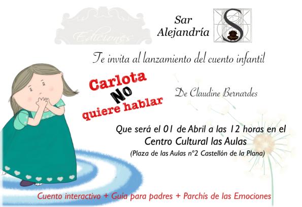 Carlota invitación