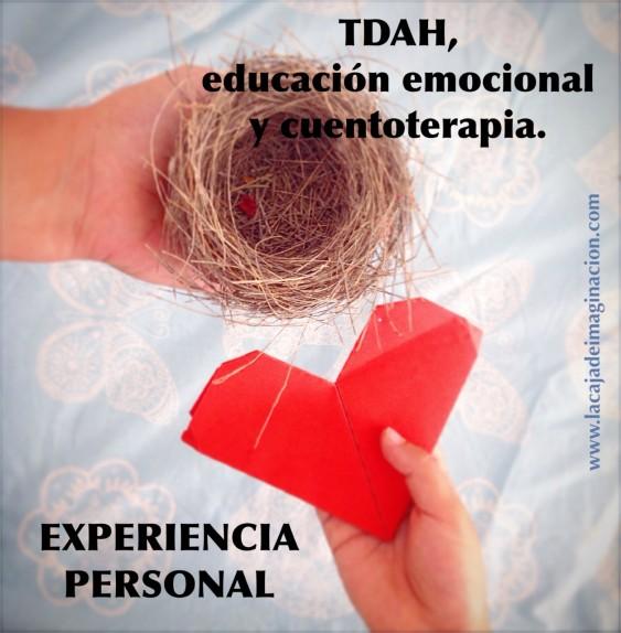 cuentoterapia educación emocional tdah, ayudar cuentos. la caja de imaginación, claudine bernardes