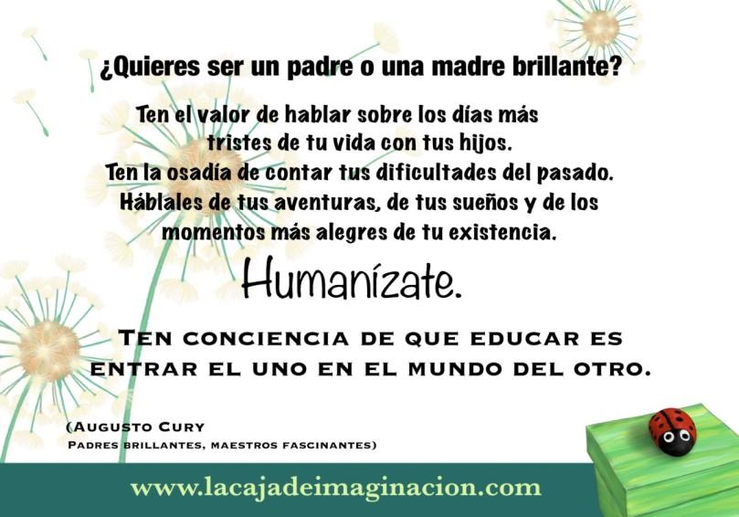 Frase augusto cury español padre brillante maestro fascinante 1