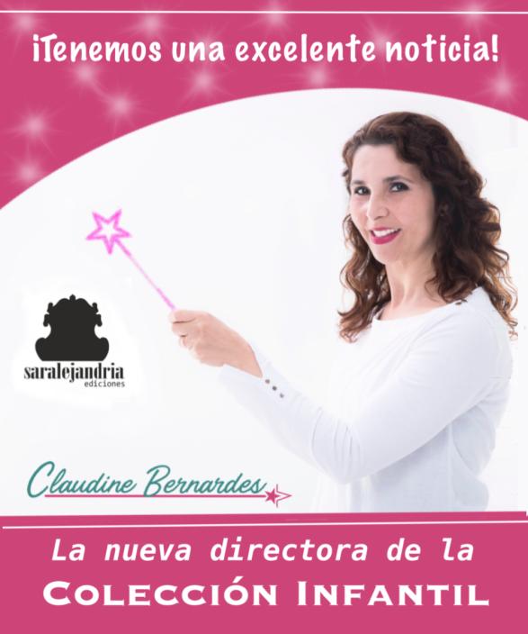 Claudine Bernardes - Editora infantial Sar Alejandría Ediciones
